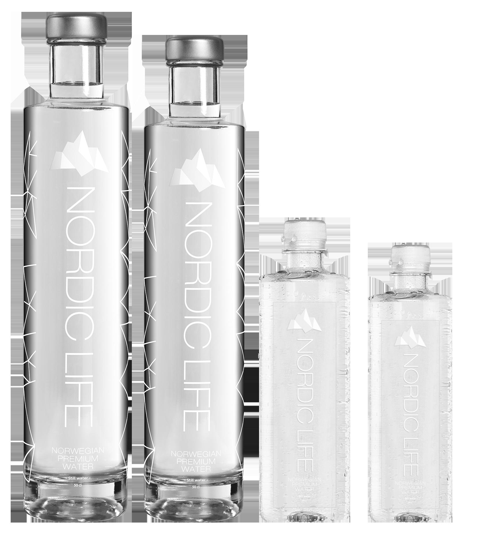 formatos botellas agua nordic life