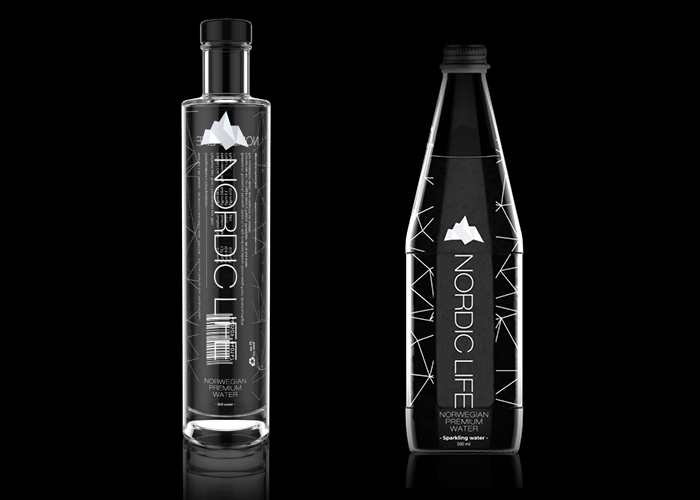 NORDIC LIFE NATURAL WATER BOTTLE DESIGN